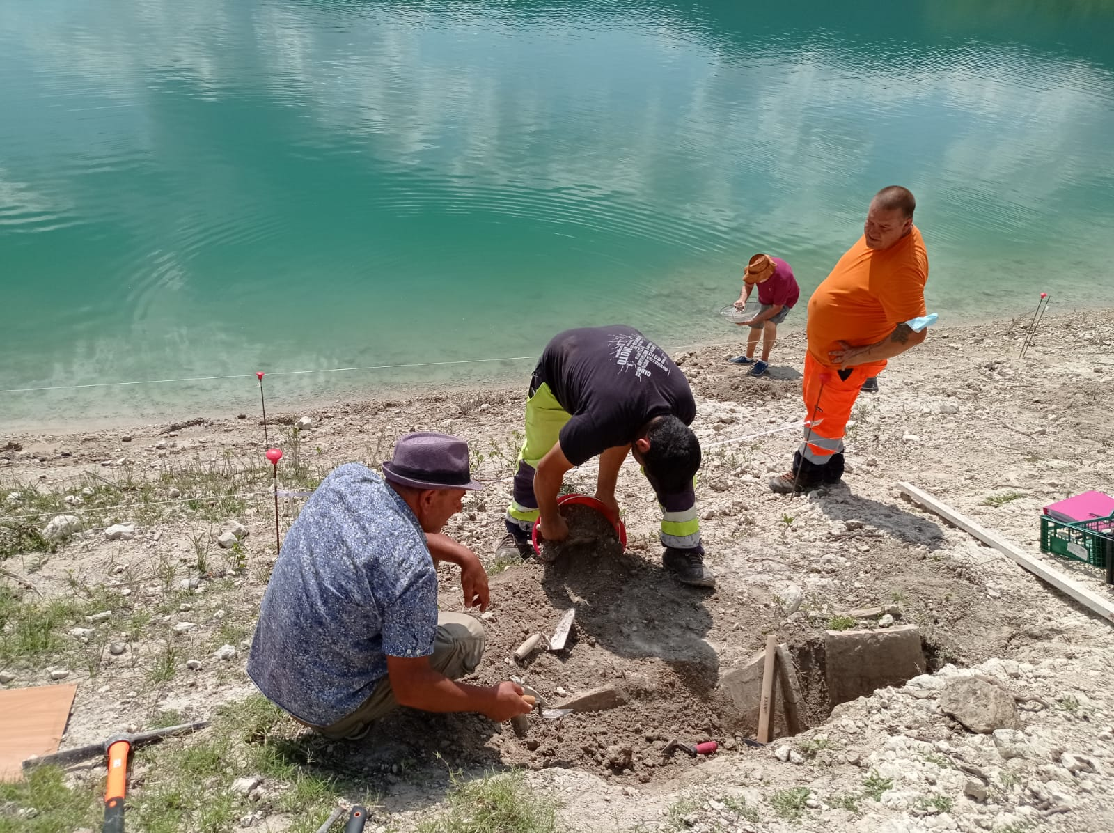 Archeologi al lavoro