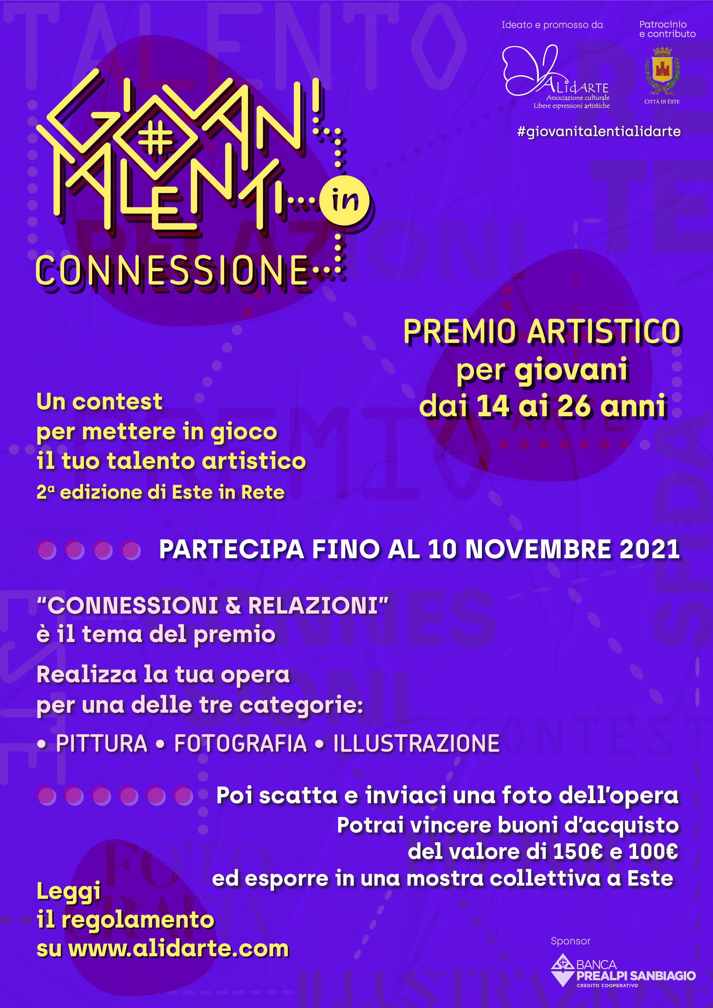 Premio Giovani Talenti_locandina informativa