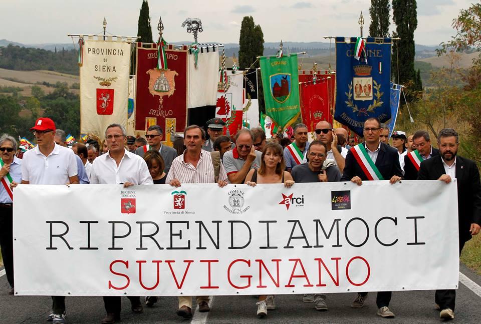 Foto manifestazione per Suvignano 8_9_13 ter