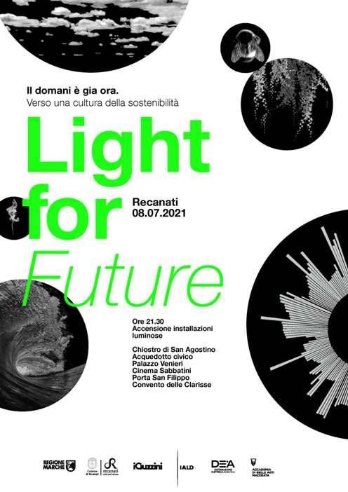 Light for Future 8 luglio