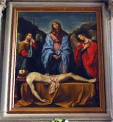 Compianto sul Cristo morto, di Pietro Marchesini (1692 - 1757)